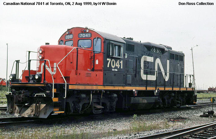 1727 Class GS 17a Was Built In February 1955 A646 FN C184 4 It Renumbered 4403 1956 And Rebuilt As 7043 418d 1992