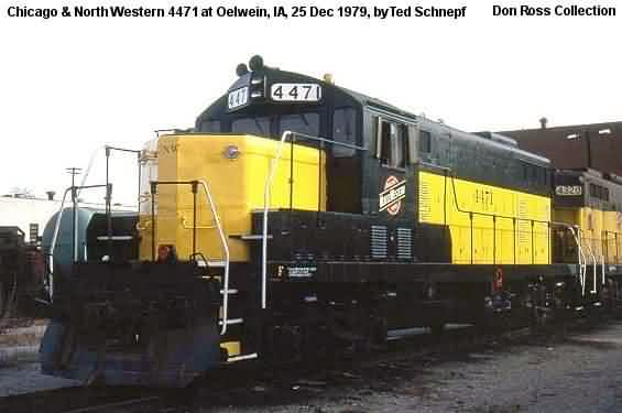 156, GP7, was built by Electro-Motive in August 1951, #15672, FN 6297-6. It  later became C&NW 156 in 1957 and rebuilt at Oelwein on November 30, 1979,  ...
