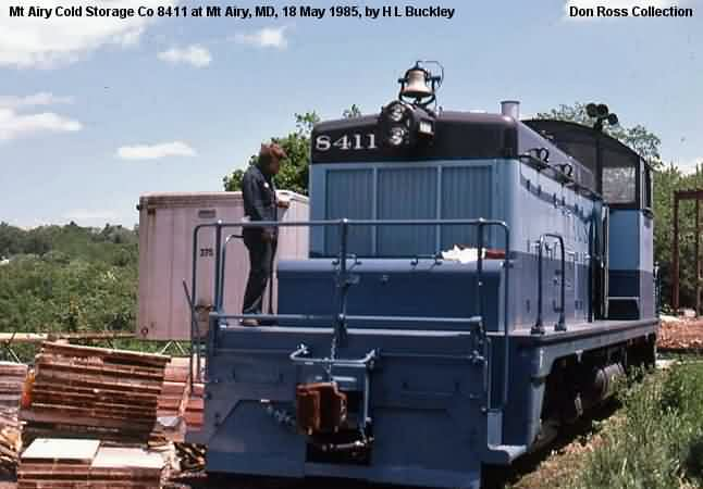 It Was Sold As Winchester Western Rr 8411 In 1964 And Resold Mt Airy Cold Storage Co 1985 Transferred Chambersburg
