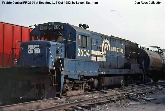 It was renumbered 2604 in 1966 and became Penn Central 2604, Class GF-25,  in 1968. It became Consolidated Railroad Corp 2604, Class U-25-B, in April  1976 ...