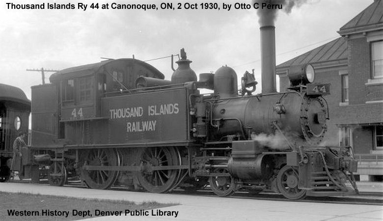 500, Class LS-3-a, was built by Oshawa Ry in 1927. It was retired in 1965 and donated to the Ganonoque city.