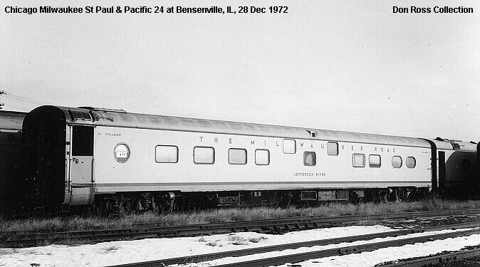 Dons Used Cars >> Chicago Milwaukee St Paul & Pacific Passenger Cars