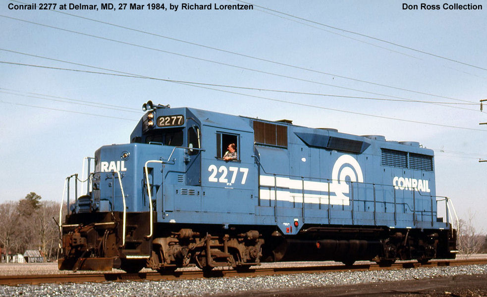 2290, Class EF-25, was built in June 1964, #29461, FN 7741-7, as PRR 2290,  Class EF-25. It became PC 2290, Class EF-25, in 1968 and Conrail 2290, ...