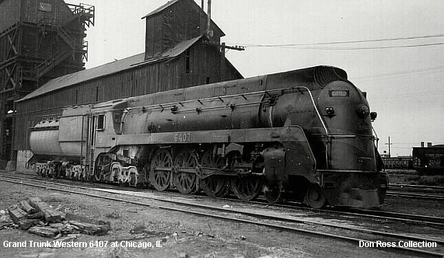 6407, Class U-4-b, was built by Lima in August 1938, #7761. It was scrapped  in April 1960.