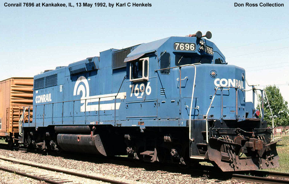It later became Conrail 7696, Class GP-38, in April 1976, and later Norfolk  Southern as Pennsylvania Rail Road 2891, Class GP38. in 1999.