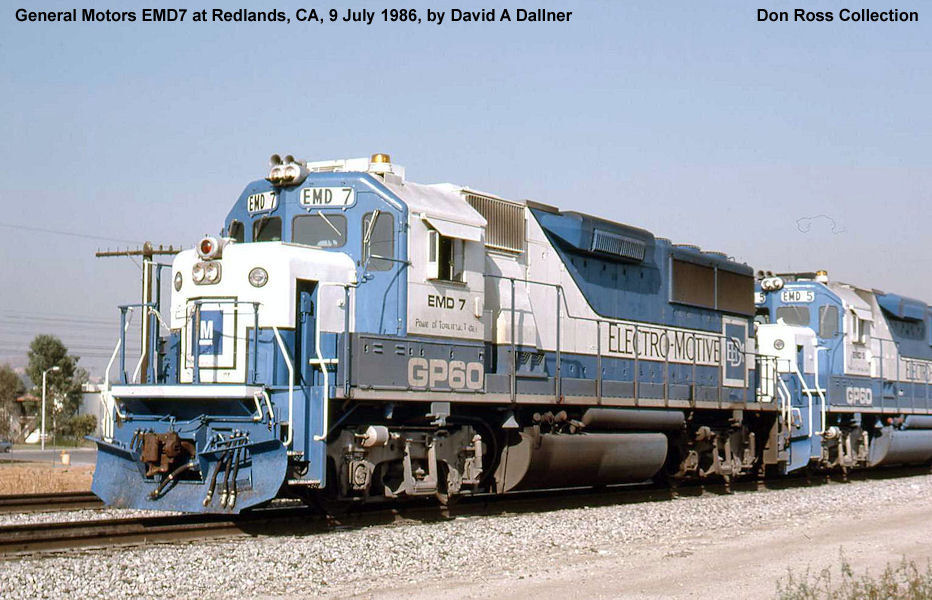 General Motors Demonstrator Locomotives