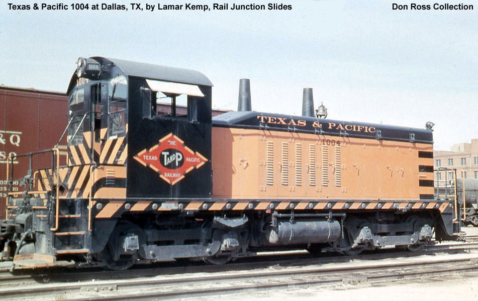 Electro Motive Diesel >> Texas & Pacific Diesel Switching Locomotives