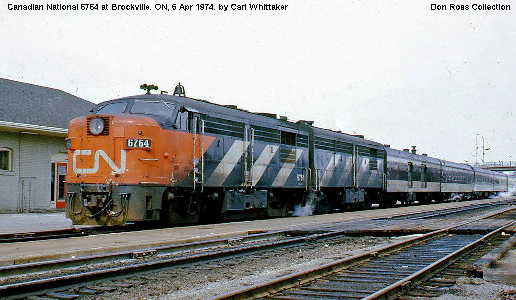 canadian national montreal fp unit diesels