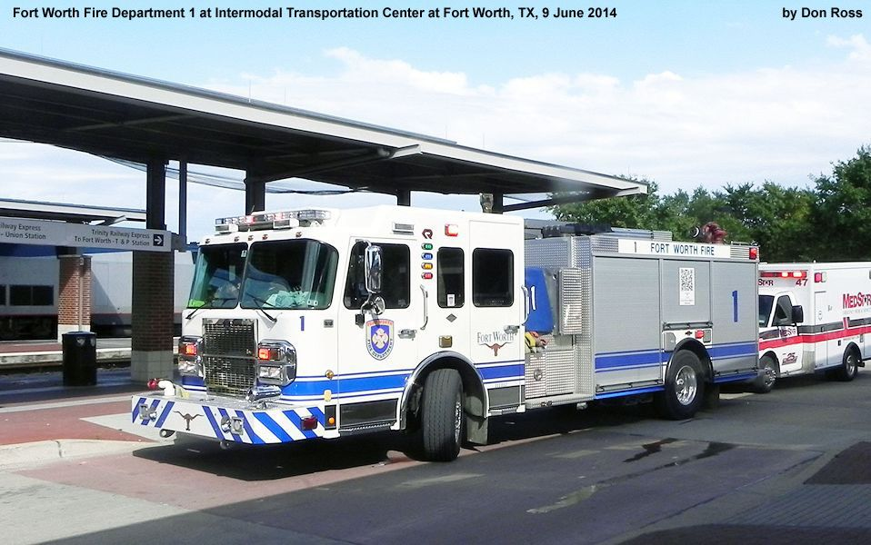 Ford Fort Worth >> Fire Engines