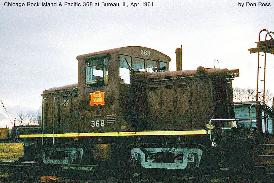 Electro Motive Diesel >> Chicago Rock Island & Pacific Davenport and Whitcomb Diesels