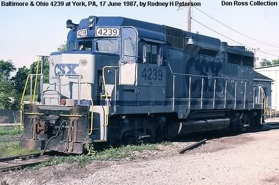 6923, Class FSE-5, was built in October 1962, #27640, FN 7682-24. It was  reclassified Class GP-30 in 1964 and later rebuilt as Class GP-30M in 1984,  ...