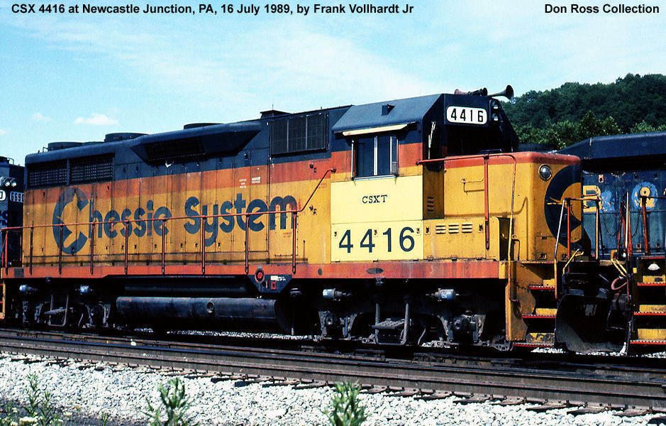 4417 Class GP 35 Was Built In December 1963 28850 FN 5660 2 As WM 502