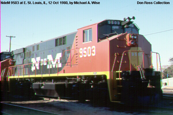 Electro Motive Diesel >> Nacionales de Mexico Diesel and Electric Locomotives