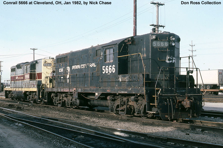 """New York Central EMD GP7 Diesels"""